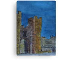 Castle at Midnight Canvas Print