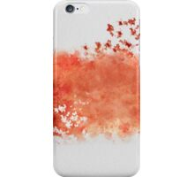 Birds splash iPhone Case/Skin