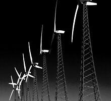 Palm Springs Windmills by socalgirl