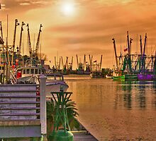Shem Creek by Wendy Mogul