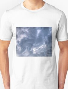 White Clouds and Sky Unisex T-Shirt