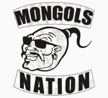 Mongols MC Motorcycle Club Kids Tee