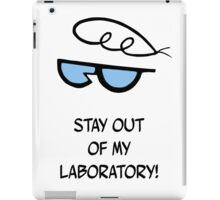 Dexter's Laboratory Quotes iPad Case/Skin