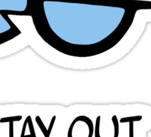 Dexter's Laboratory Quotes Sticker