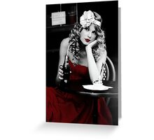taylor swift - RED Greeting Card