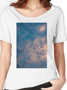Candle light and frozen window Women's Relaxed Fit T-Shirt