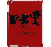 Help the Gaming Classics iPad Case/Skin