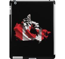 Canada Flag Map iPad Case/Skin