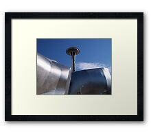 Science fiction Museum and hall of fame.... Framed Print