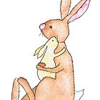 A CUDDLE by Hares & Critters