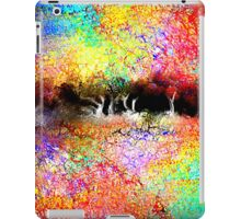 Abstract Landscape in Bright Colors iPad Case/Skin