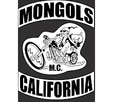 Mongols MC Motorcycle Club Photographic Print