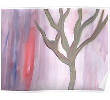 Naked Tree 1 - Surreal Abstract Landscape Poster
