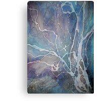 Blue Waterways Canvas Print