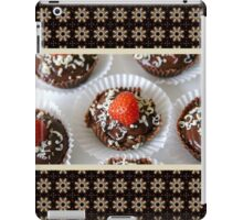 Strawberry and Dark Chocolate Mousse Dessert iPad Case/Skin
