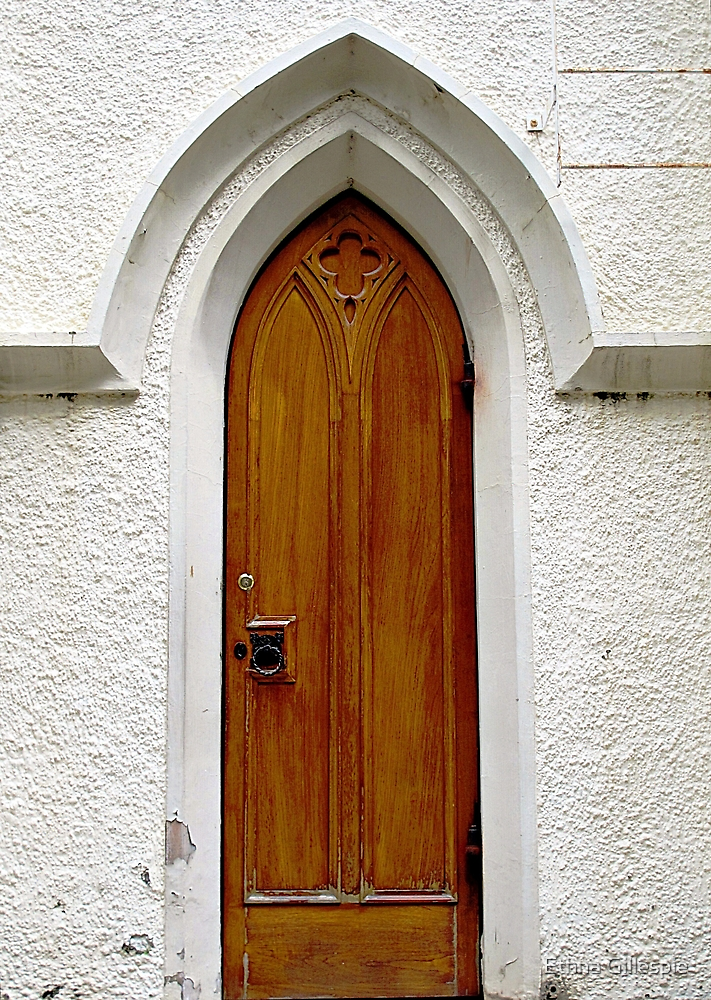 A Side Door to the Cathedral  by Ethna Gillespie