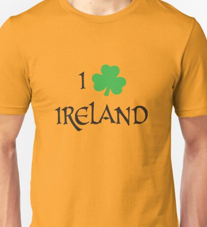I Love Ireland Unisex T-Shirt