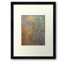 Towers in the Sky Framed Print