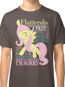 The Many Words of Fluttershy Classic T-Shirt