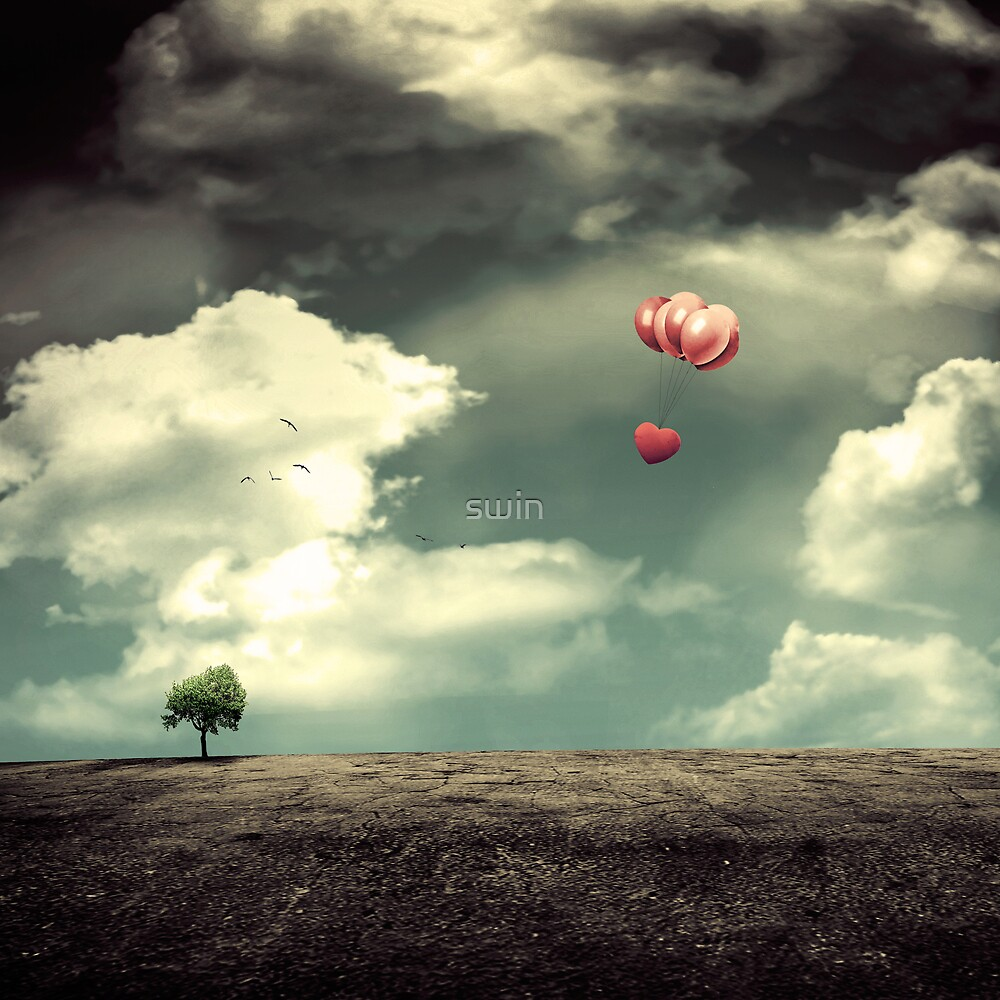 leaving my useless heart to nowhere...... by swin