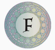 F Pastel Circle by cdanoff
