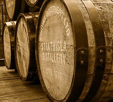 Whisky Barrels by kt-photography