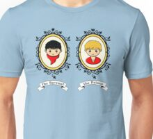 Arthur and Merlin Double Frames Unisex T-Shirt