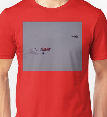 Flying The White Ensign @ Nowra Airshow 2008 Unisex T-Shirt
