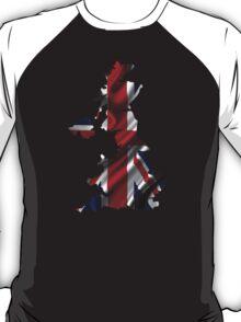 UK United Kingdom Flag Map T-Shirt