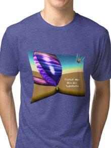 Feather Man - Super hero Tri-blend T-Shirt