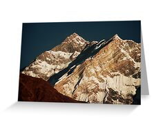Annapurna Gold Greeting Card