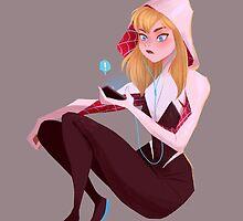 Spider-Gwen by taryndraws