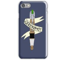 Sonic--Geronimo. iPhone Case/Skin