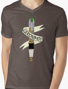 Sonic--Geronimo. Mens V-Neck T-Shirt