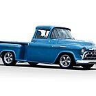 1957 Chevrolet 3100 Stepside Pickup I by DaveKoontz