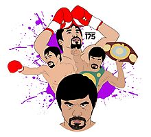Manny Pacquiao - Compilation Photographic Print