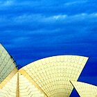Sydney Opera House Sails - Dramatic by Sean Pinwill