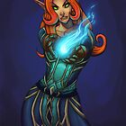 mage elf   by lubasa