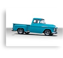 1957 Chevrolet 3100 Stepside Pickup II Canvas Print