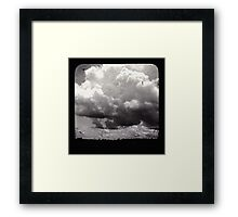 Stormy Days Framed Print
