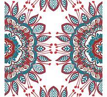 Retro Mandala by SamanthaKulchar