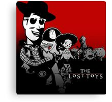 THE LOST TOYS Canvas Print