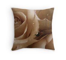 Grandma's roses Throw Pillow