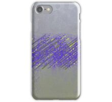 Abract Cement and Yellow Piping Design iPhone Case/Skin