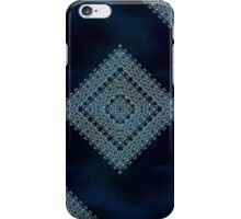Deep Blue Diamonds iPhone Case/Skin