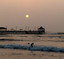 Local Surfer, Huanchaco, Peru by Martyn Baker | Martyn Baker Photography