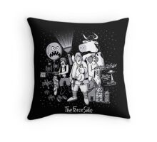 The Force Side Throw Pillow