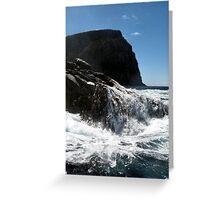 Coastal Bruny Island Greeting Card