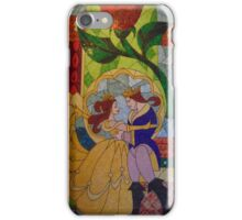 Be Our Guest Restaurant Stained Glass- Magic Kingdom iPhone Case/Skin