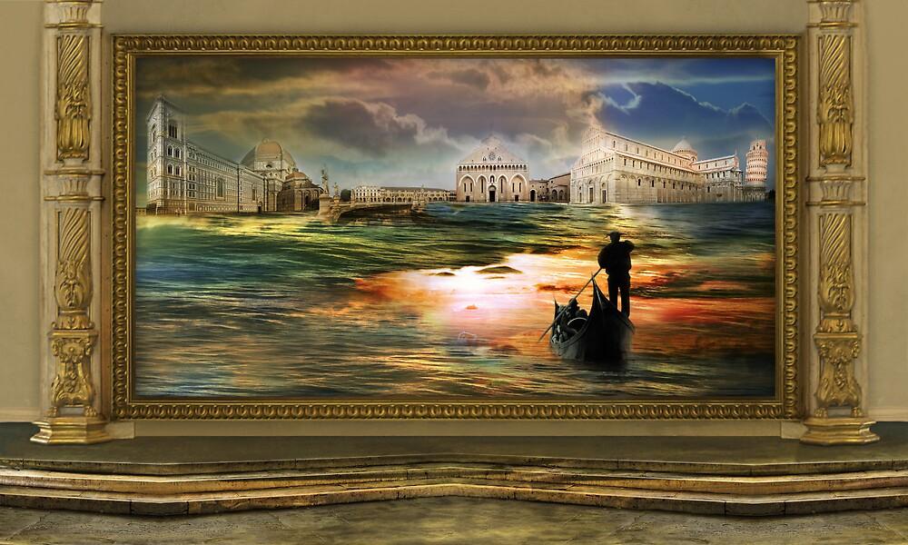 Quadro nel museo del surrealismo by sattva